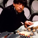 Patrick Troughton in the TARDIS