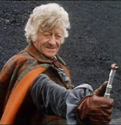 3rd Doctor with Sonic Screwdriver